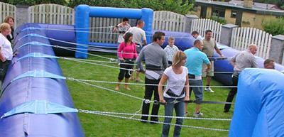 Mega bordfodbold / Menneske bordfodbold