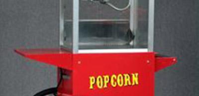 Udlejning af popcornmaskine